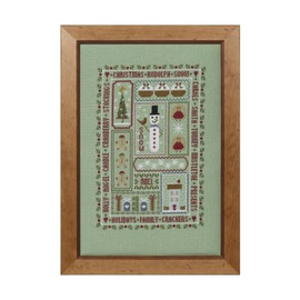 Christmas Boxes Cross Stitch By Historical Sampler Company