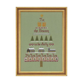 Christmas Tree Cross Stitch By Historical Sampler Company
