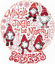 Lets Mingle and Jingle Cross Stitch Chart by Ursula Michael