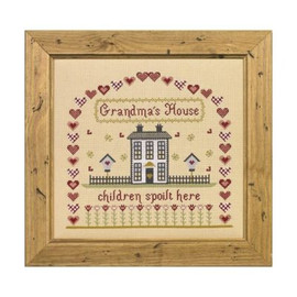 Grandma's House Cross Stitch By Historical Sampler Company