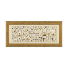 Just For A Girl Cross Stitch By Historical Sampler Company