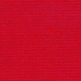 Christmas Red - Zweigart 16 count Aida Christmas Red 53 x 48cm