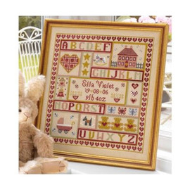 Sugar And Spice Patchwork Cross Stitch By Historical Sampler Company