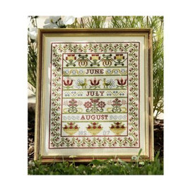 Summer Band Cross Stitch By Historical Sampler Company