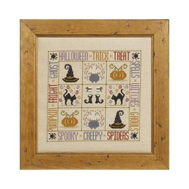 Trick Or Treat Cross Stitch By Historical Sampler Company