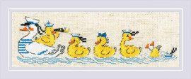 Over the Waves Cross Stitch By Riolis