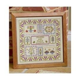 Wedding Boxes Cross Stitch By Historical Sampler Company