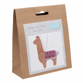 Felt Decoration Kit: Llama By Trimits