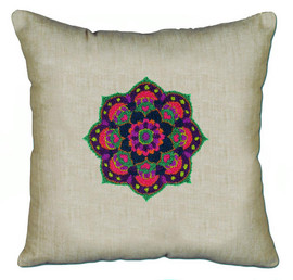 Mandala Pillow Punch Kit By Solocraft