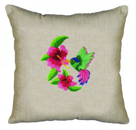 Hummingbird Pillow Punch Kit By Solocraft