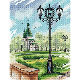 NIZHNY NOVGOROD cross stitch kit by mp studia