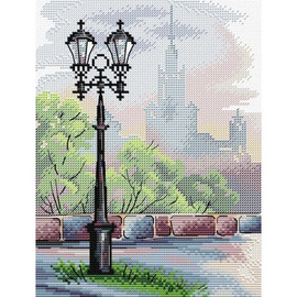 Moscow cross stitch kit by MP Studia