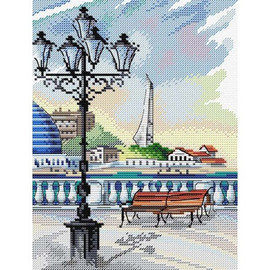 LEGENDARY SEVASTOPOL cross stitch kit by MP STUDIA