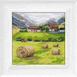 TUSCANY cross stitch kit by OVEN