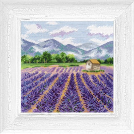 PROVENCE cross stitch kit by OVEN