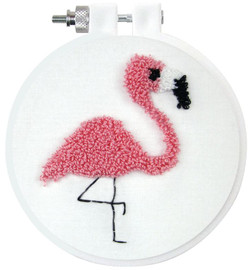 Flamingo Needle Punch Kit By Design Works