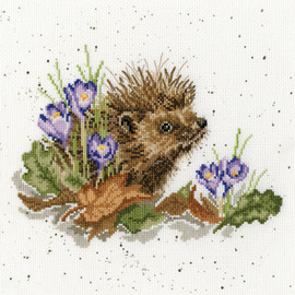 NEW BEGINNINGS cross stitch kit by Bothy Threads