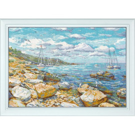 CRIMEAN COAST cross stitch kit by OVEN