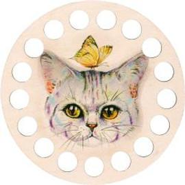 Buratini Thread Organizer Kitty 13cm by RTO
