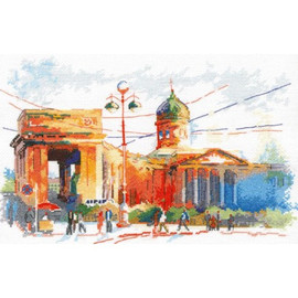 KAZAN CATHEDRAL cross stitch kit by OVEN