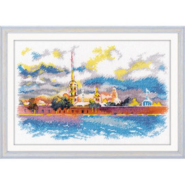 PETER AND PAUL FORTRESS cross stitch kit by OVEN