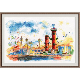 SPIT OF VASILIEVSKY ISLAND cross stitch kit by OVEN