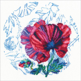 Scottish Water Colours Printed Cross Stitch Kit by RTO