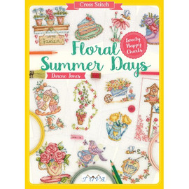 Floral Summer Days Cross stitch Book by Durene Jones