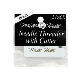 Mill Hill Needle  threader with Cutter