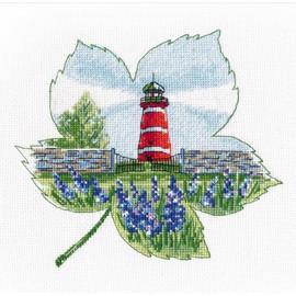 THE LIGHTHOUSE OF NARSHOLMEN cross stitch kit by OVEN