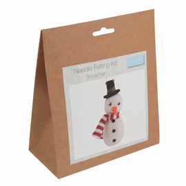 Needle Felting Kit: Snowman by Trimit