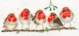 Rocking Robins Cross Stitch Kit by Bothy Threads