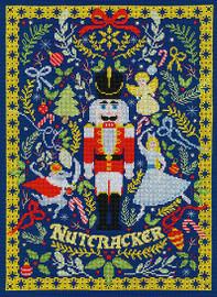 The Christmas Nutcracker Cross Stitch Kit by Bothy threads