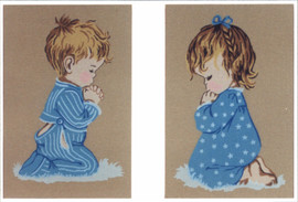 Bedtime Prayers Tapestry Canvases By Gobelin