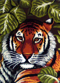 Tiger Tapestry Canvases By Gobelin