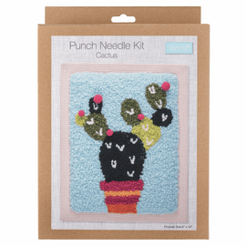 Punch Needle Kit: Cactus by TRIMITS
