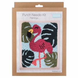 Punch Needle Kit: Flamingo by TRIMITS