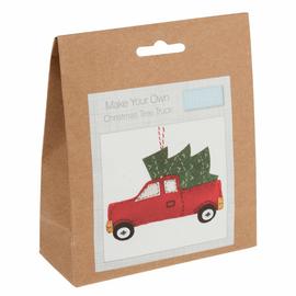 Felt Decoration Kit: Christmas: Christmas Tree Truck by Trimit