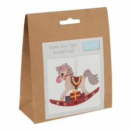 Felt Decoration Kit: Christmas: Rocking Horse by Trimit