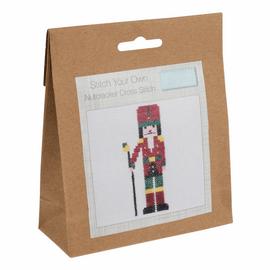 Mini Counted Cross Stitch Kit: Nutcracker by Trimit