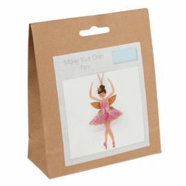 Felt Decoration Kit: Christmas: Sugar Plum Fairy By Trimits