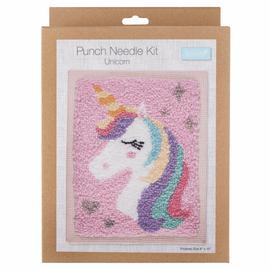 Punch Needle Kit: Unicorn By Trimits
