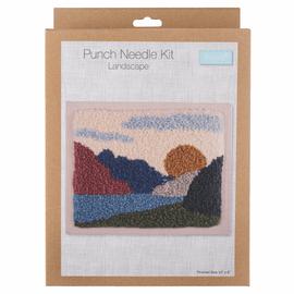 Punch Needle Kit: Landscape By Trimits