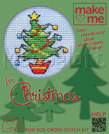 Happy Tree Cross Stitch Kit By MouseLoft