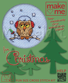 Cosy Owl Cross Stitch By MouseLoft