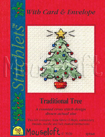Tradition Tree Cross Stitch Kit By MouseLoft