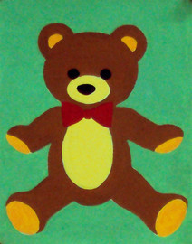 Teddy bear Tapestry Kit By Gobelin