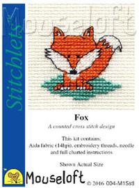 Fox Cross Stitch Kit by Stitchlets