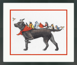 Counted Cross Stitch Kit: Bird Dog By Dimensions