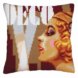 Art Deco 2 Chunky Cross Stitch Kit by D'art